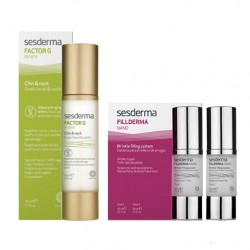 Set Sesderma Factor G Chin&Neck 50ml + Fillderma Nano 2x30ml
