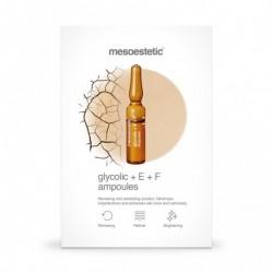 Mesoestetic Glycolic +E +F Ampoules 10 x 2ml