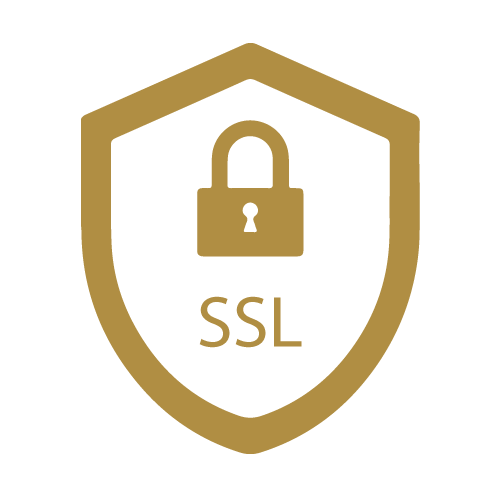 All payments & data are secured with SSL certificate
